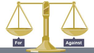 Essay arguments for and against